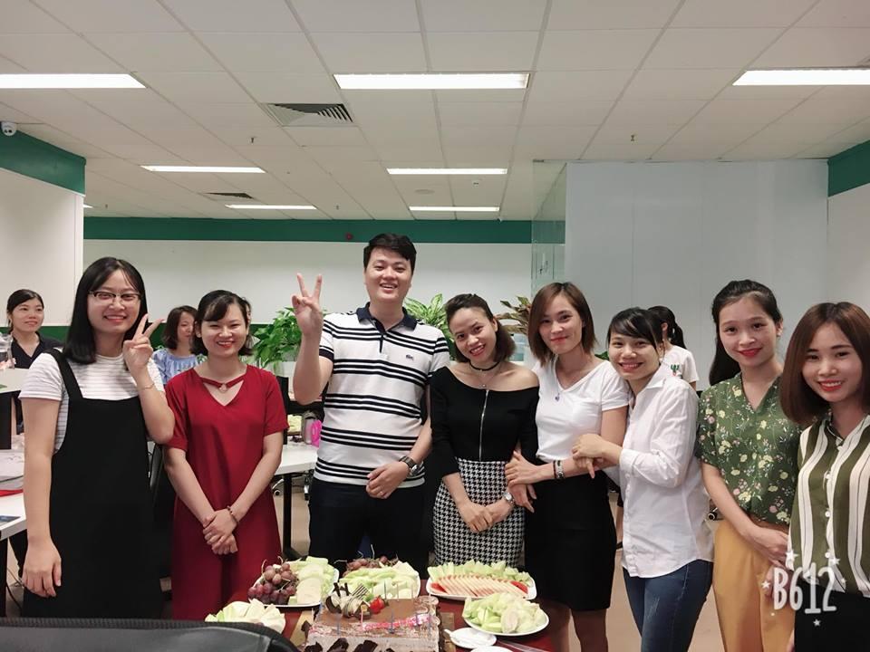 tiệc sinh nhật công ty Medinet