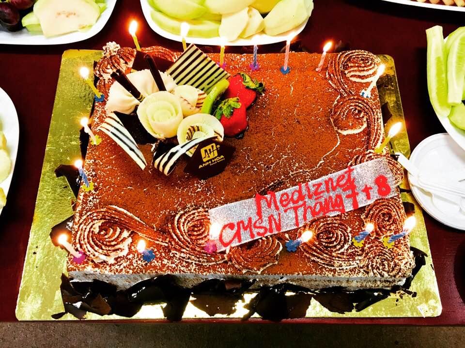 tiệc mừng sinh nhật Công ty Medinet